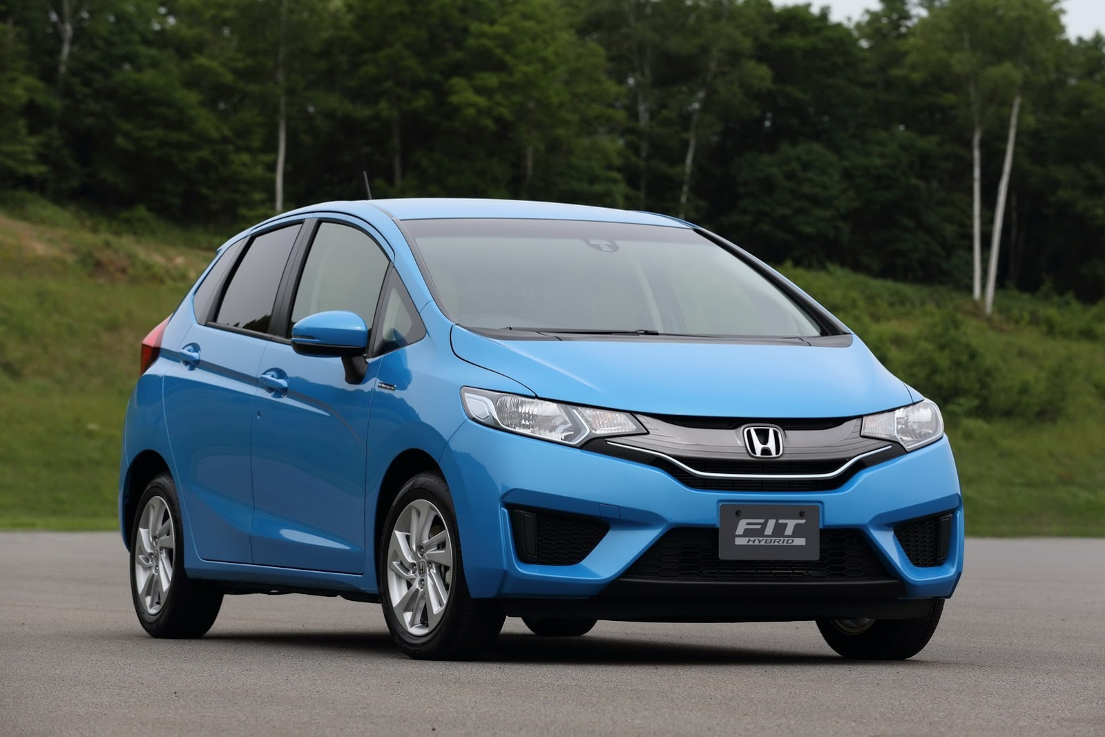 New 2014 Honda Jazz photo gallery